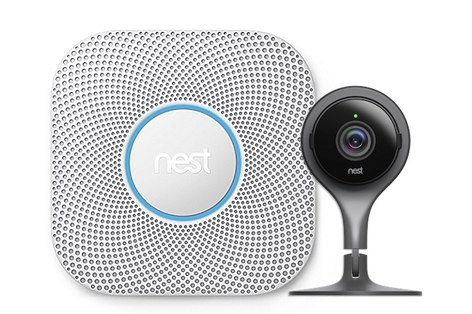 Nest Products: Smoke Detector & Nest Cam
